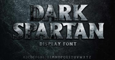 Dark Spartan [1 Font] | The Fonts Master