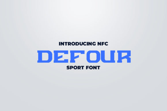 Defour [4 Fonts]   The Fonts Master