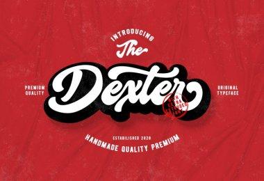 Dexter Script [2 Fonts] | The Fonts Master