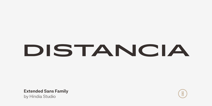 Distancia [12 Fonts] | The Fonts Master