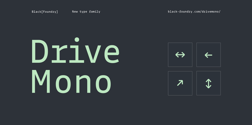Drive Mono Super Family [18 Fonts] | The Fonts Master