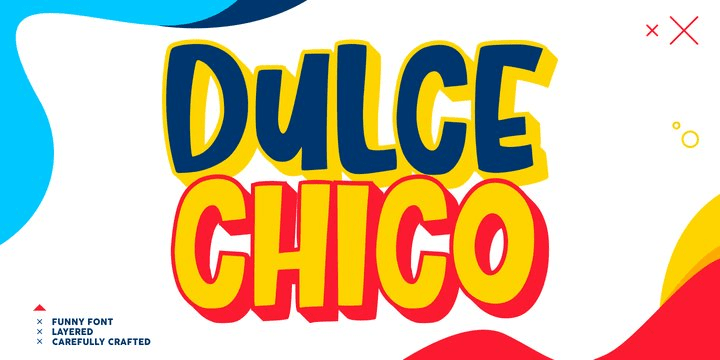 Dulce Chico [1 Font] | The Fonts Master