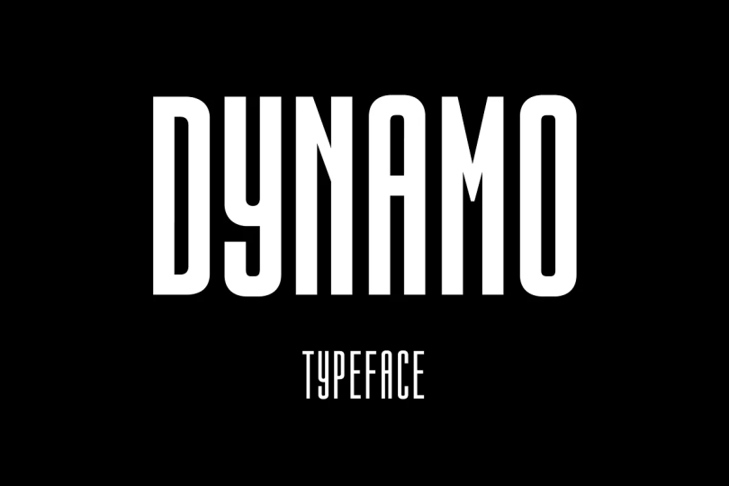 Dynamo [7 Fonts]   The Fonts Master