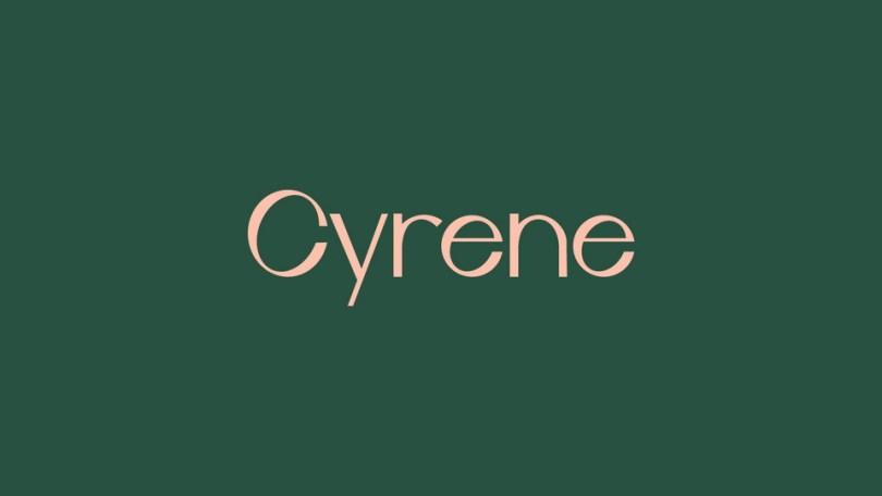 Cyrene [1 Font] | The Fonts Master