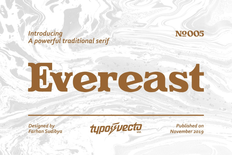 Evereast [1 Font] | The Fonts Master