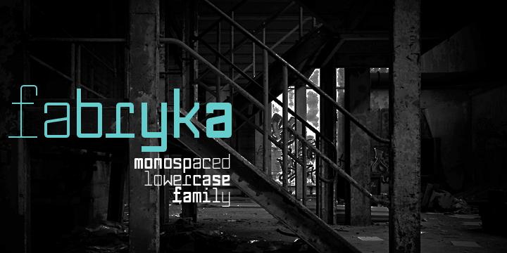 Fabryka 4F [10 Fonts] | The Fonts Master
