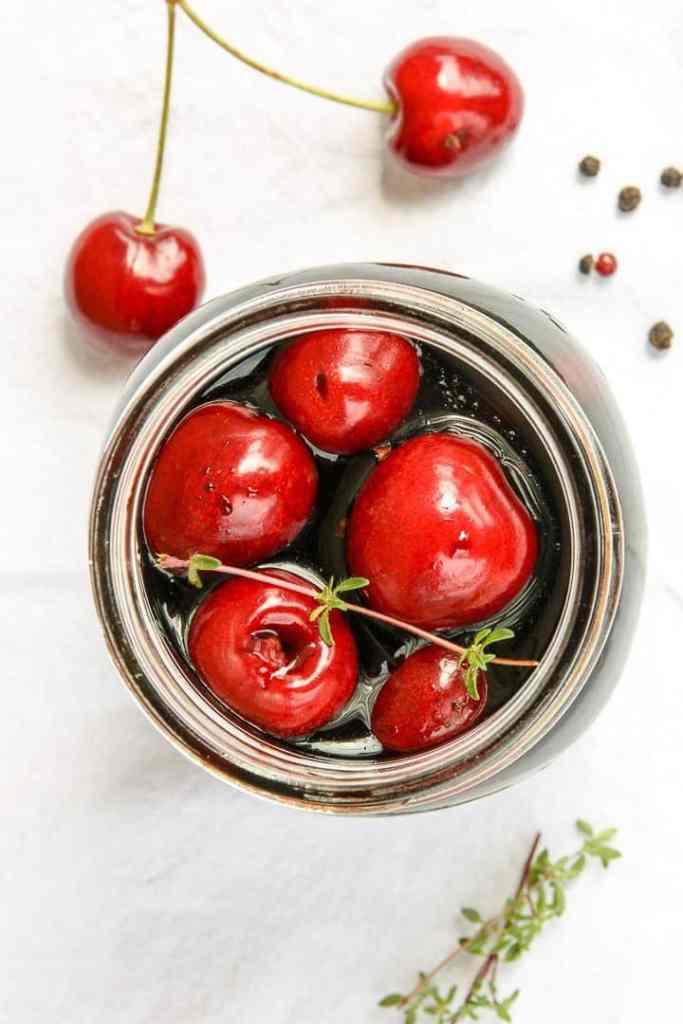 Balsamic Cherries