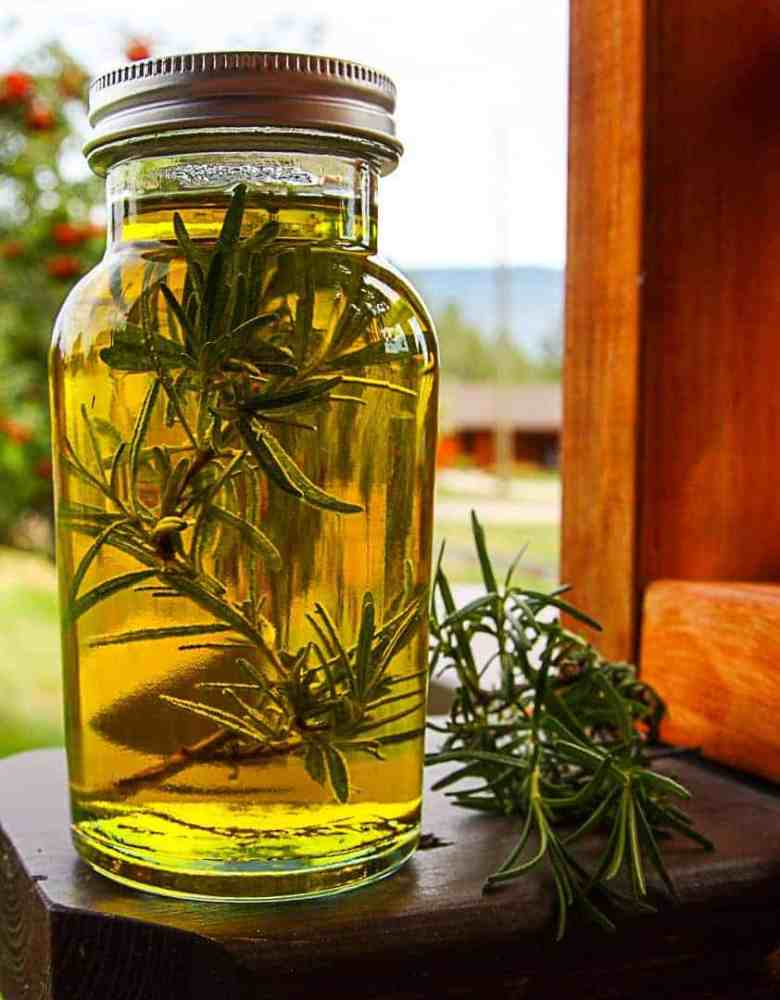 Preserving Fresh Herbs - Rosemary Oil