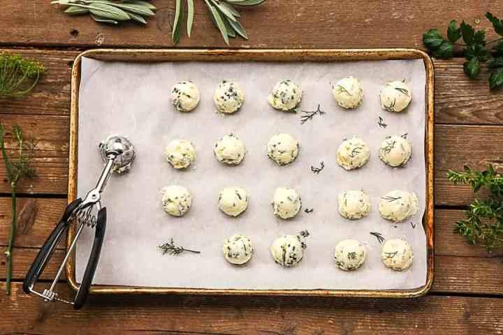 Preserving Fresh Herbs - Herb butter