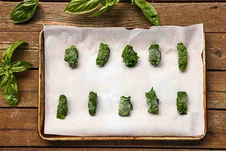 "Frozen Basil ""Cigars"""