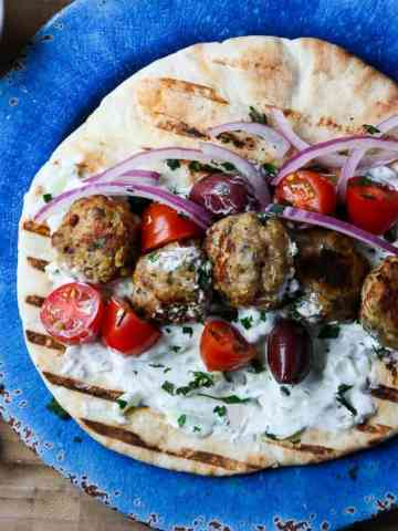 Greek Meatballs - Keftedes
