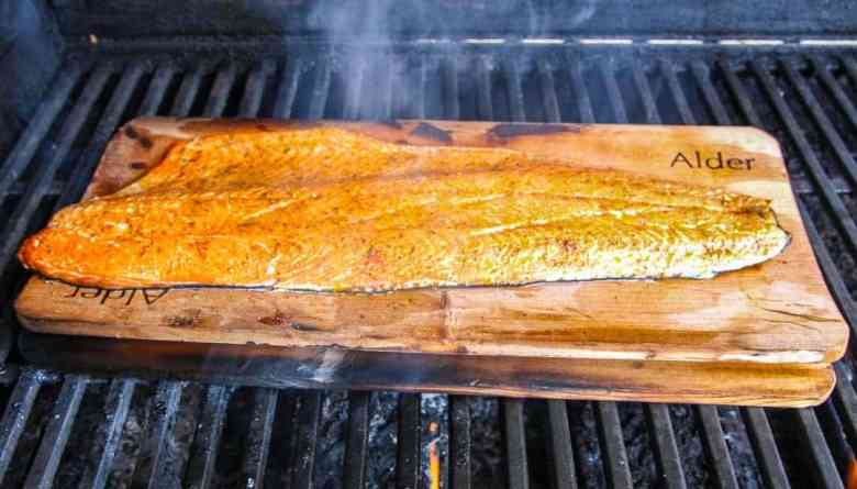 Alder Planked Salmon