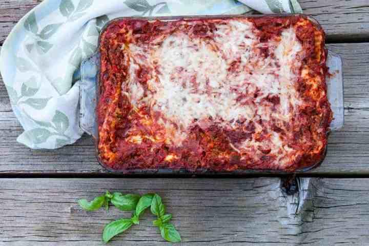 Classic Meat Lasagna