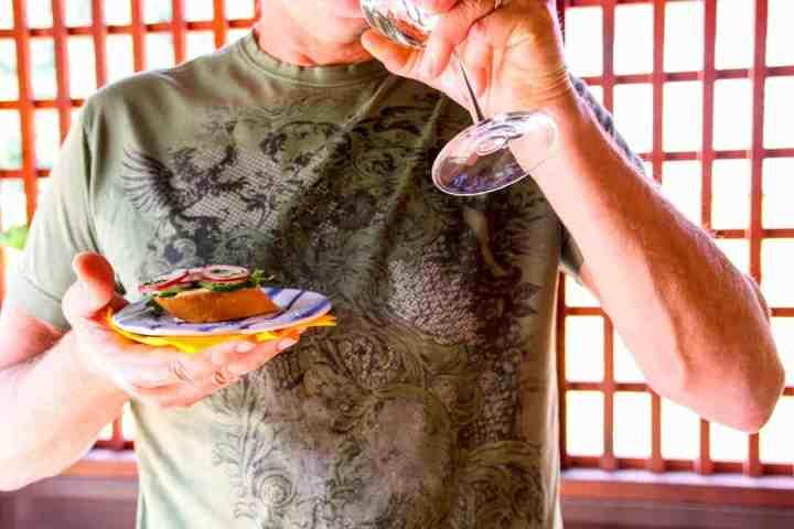 Spring Wine & Appetizer Pairings: Cucumber Radish Crostini