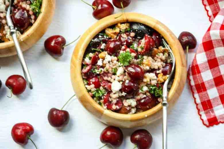 Cherry Walnut Couscous Salad