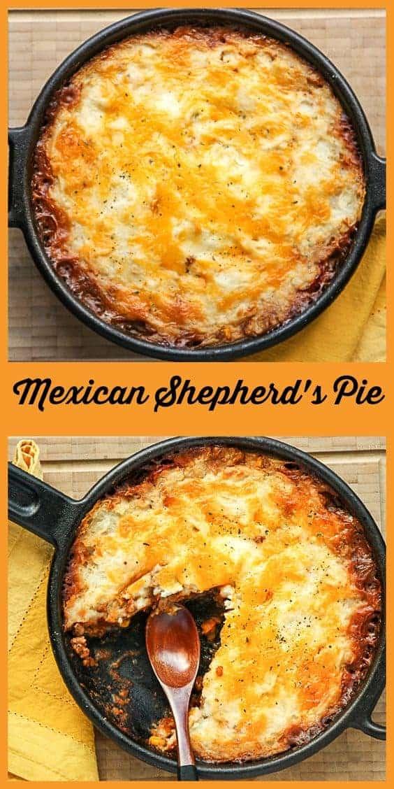 Pin Mexican Shepherd's Pie