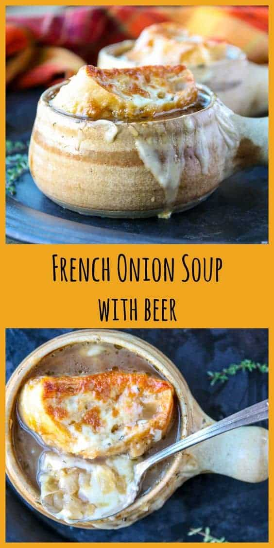 French Onion Soup With Lager