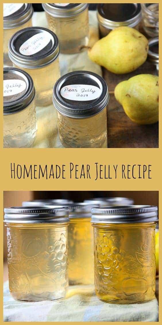 Pear Jelly Recipe