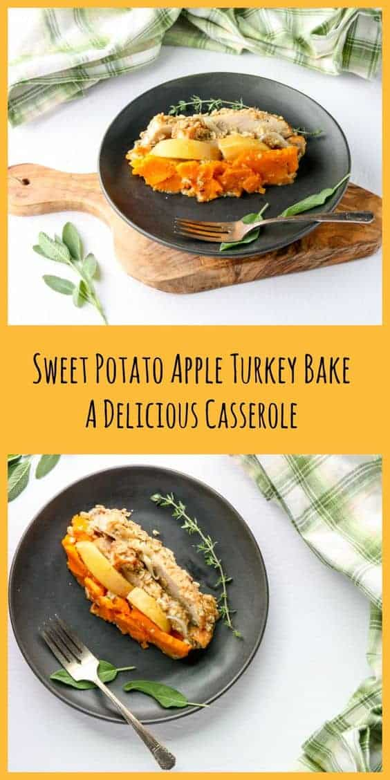 Sweet Potato Apple Turkey Bake