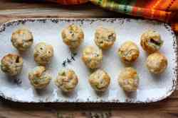 Mushroom Brie Puff Pastry Appetizers