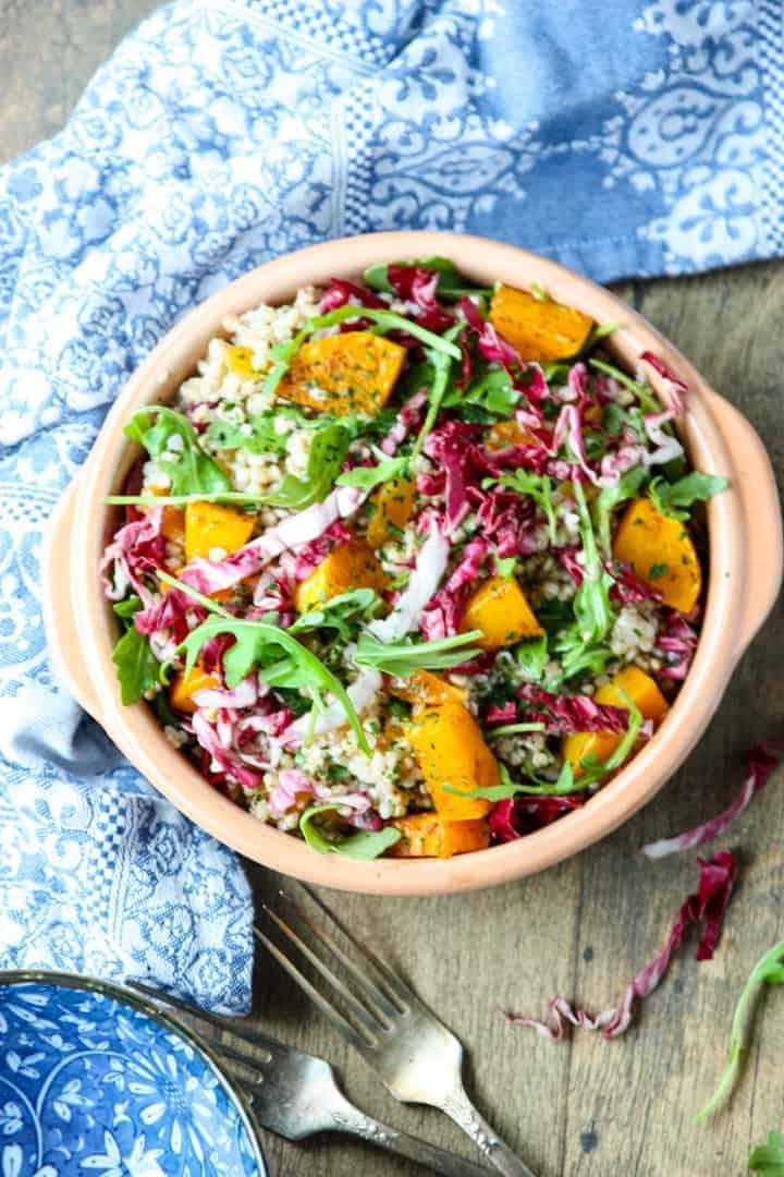 Butternut Buckwheat Salad