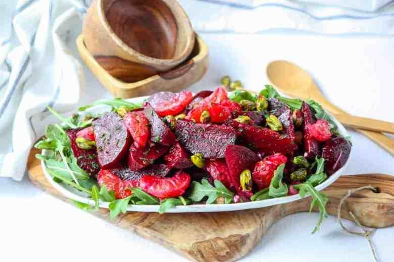 Beet Pistachio & Orange Salad