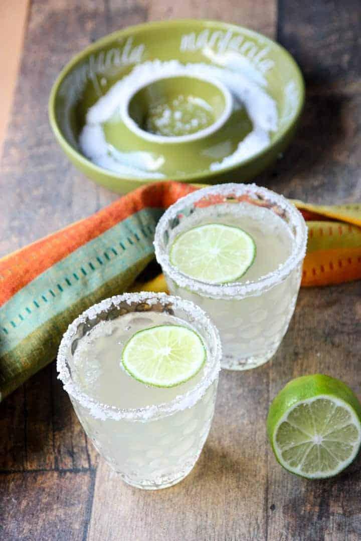 Prosecco Margarita Cocktail