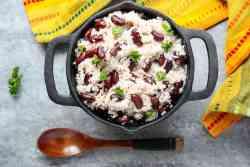 Coconut Rice & Beans