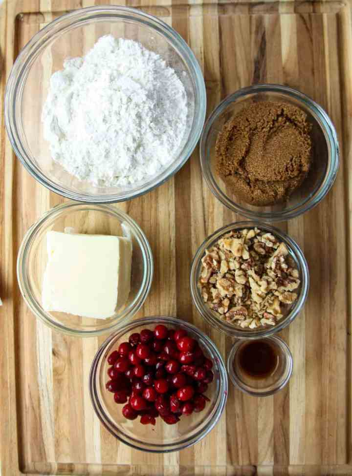 Ingredients to make these cookies