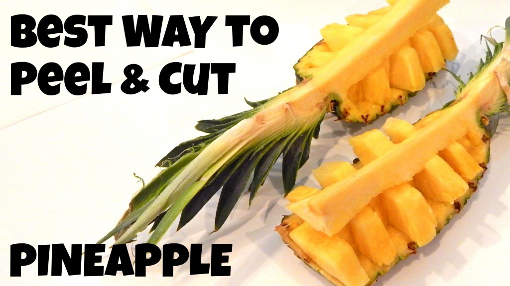 Cut And Serve Pineapple The Food Cop Clean Healthy Eating