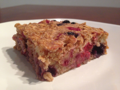 Monday Meal Planning and a Baked Oatmeal Recipe