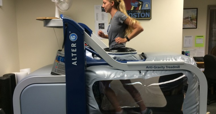 Running on the Moon: The AlterG Experience