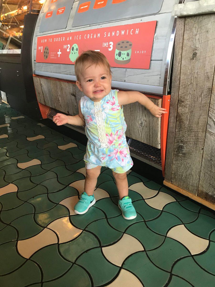 Lavinia Grace: 12-15 Months