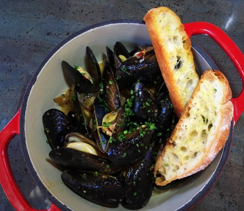 Fireside by The Patio Wood Fired Mussels