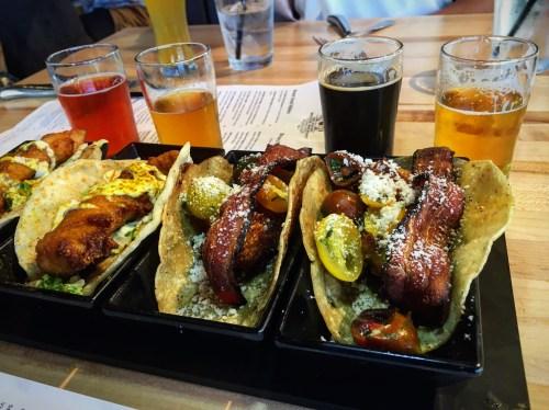 Belching Beaver tacos