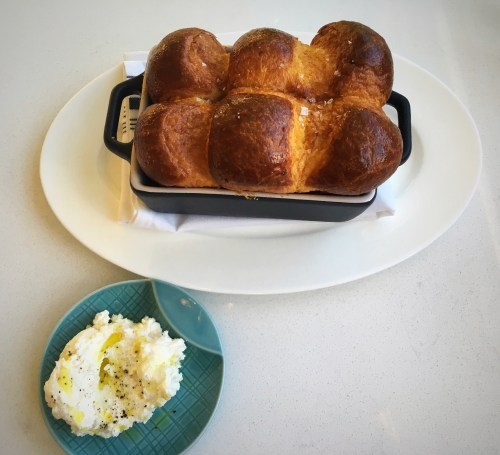 Pacific Standard Coastal Kitchen Brioche and Ricotta