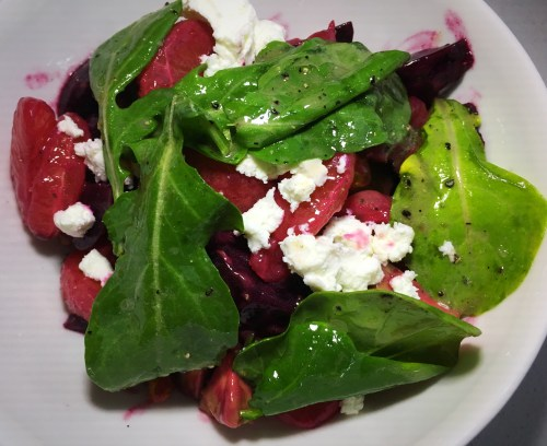 Pacific Standard Coastal Kitchen beet salad