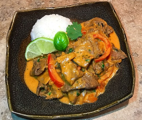 Thai Beef Red Curry Recipe