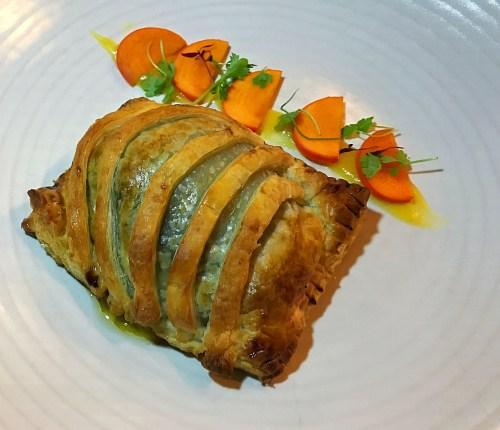 Tidal foie gras poptart