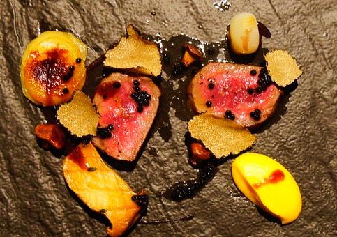 Patrick Ponsaty wagyu beef truffles