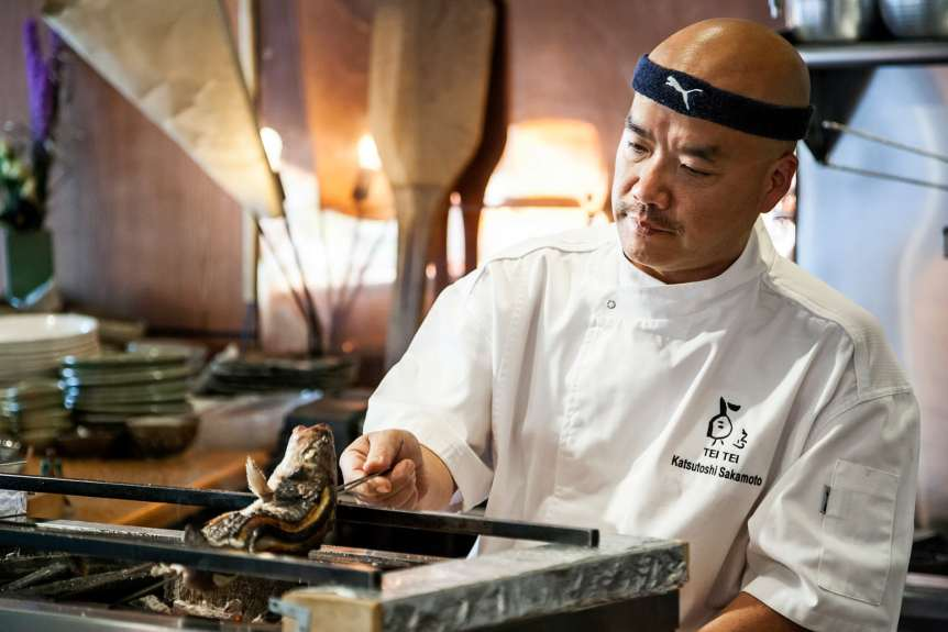 TEI TEI Katsutoshi Nakamoto, commercial food, food photography, advertising, restaurant, editorial, cookbooks, cook books, table top, food styling, prop styling, lifestyle, interior photography, chef portraits, celebrity chef portraits, portrait photography