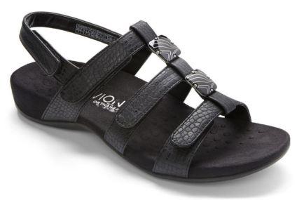 vionic amber black - Vionic Footwear Range