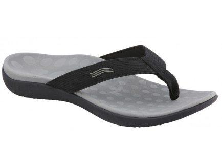 wave ii black - Orthoheel Footwear Range