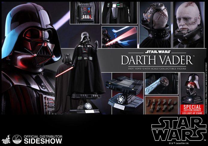 Star Wars Darth Vader Quarter Scale Figure Hot Toys 9025061 03