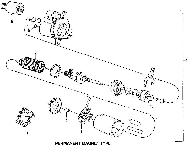 Mercury Cougar Starter Motor Viii