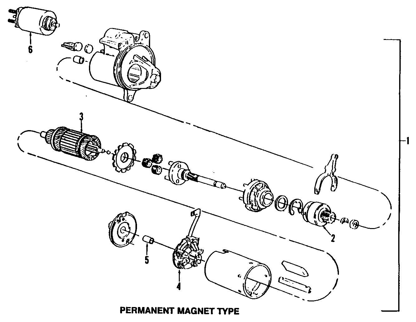 Ford Ranger Starter Motor Starter Motor Assembly 3 0
