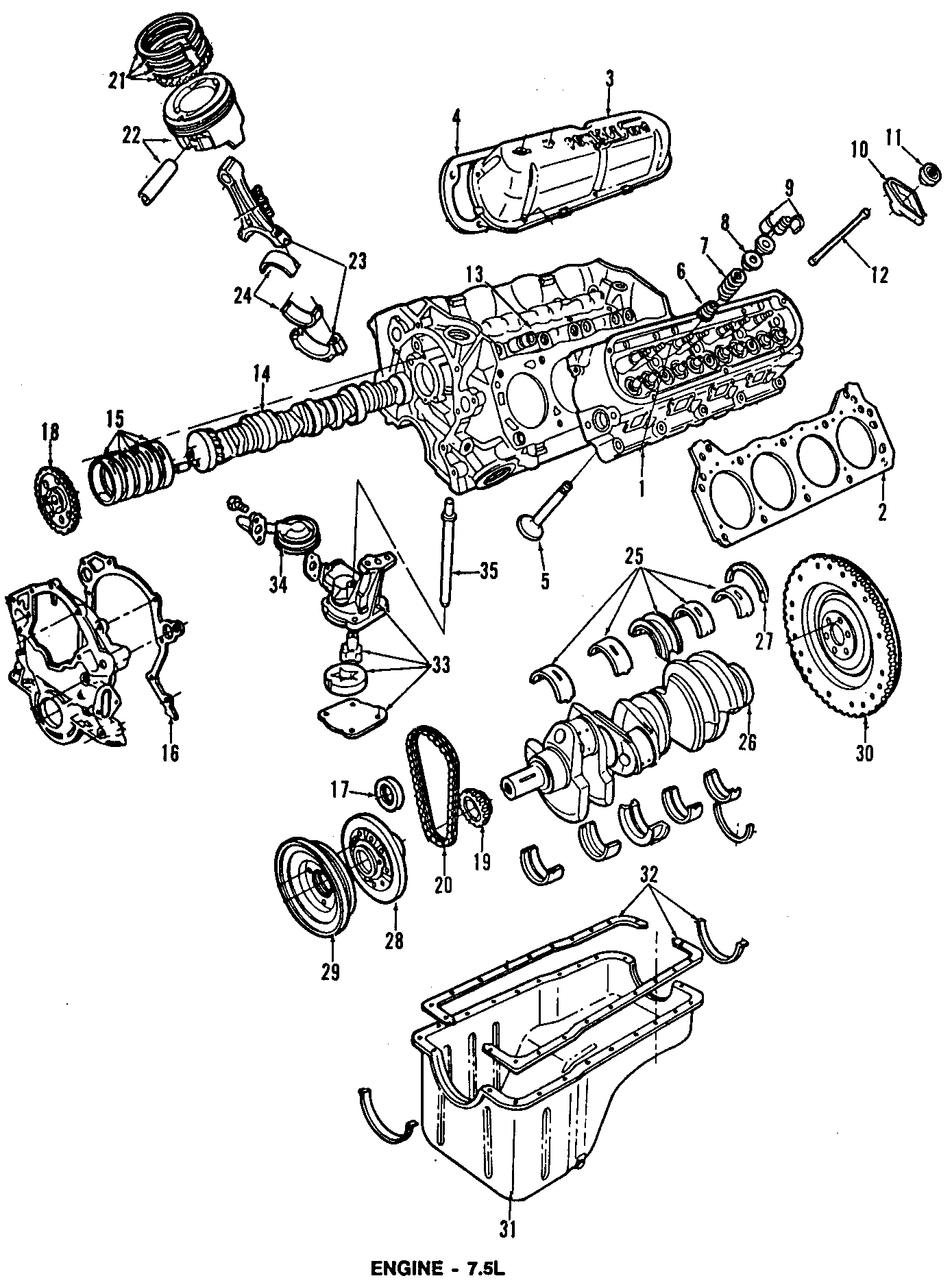 Ford F 350 Gasket