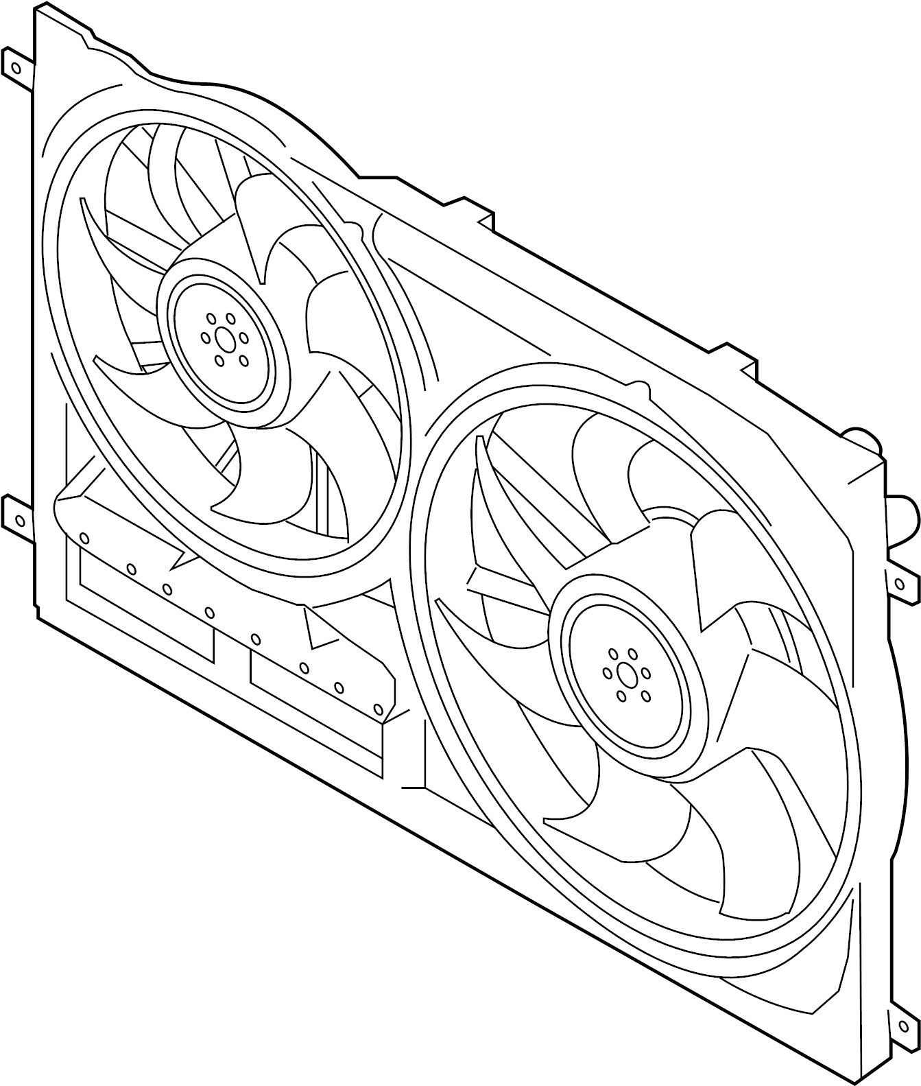 Ford Transit 350 Fan And Motor Motor And Fan Assembly