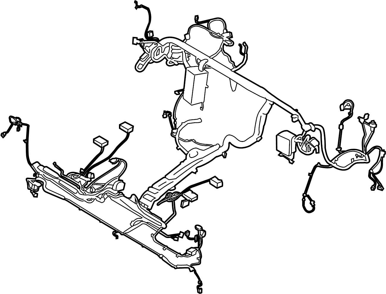 Ford Transit 250 Wire Harness Wiring Assembly