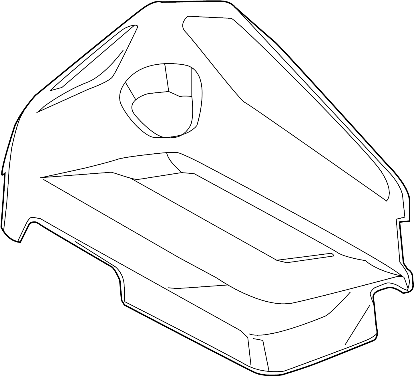Ford Escape Engine Cover 1 6 Liter Transaxle Appearance